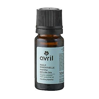 Organic peppermint essential oil 10 ml of essential oil