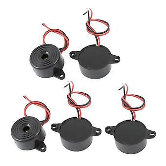 Dc 3-24v 85db zwart geluid elektronische zoemer alarm