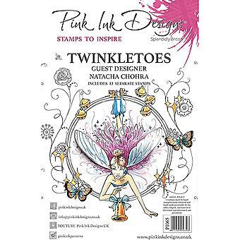 Pink Ink Designs Twinkletoes A5 Clear Stamp