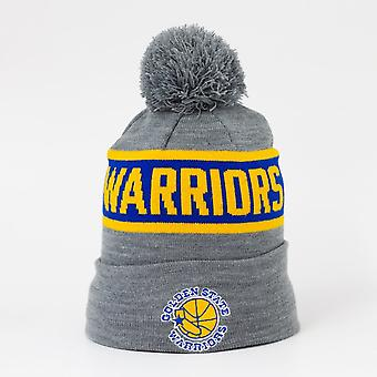 Mitchell and Ness Nba Golden State Warriors Team Tone Cuffed Knit