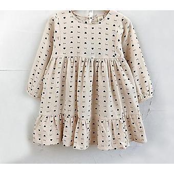 Dlhé rukávy Čipkové sieťoviny Detské šaty ( Sada 1)