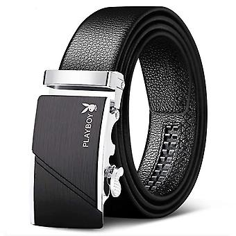 Casual Men's Artificial Leather Automatic Buckle Belt