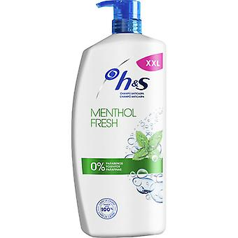 H&S Menthol Shampooing 1000 ml
