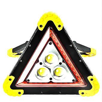 Veiligheid driehoekig waarschuwingsbord voor verkeer