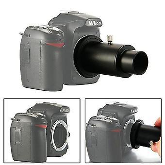 """Full metal telescope camera adapter t-ring + 1.25"""" telescope mount adapter + extension tube for nikon dslr for canon eos dslr"""