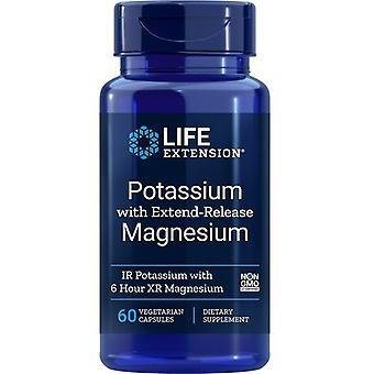 אשלגן מאריך חיים עם צמחי מגנזיום בשחרור מהאריך 60