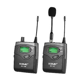 Mikrofon odbiornika bezprzewodowego nadajnika ACEMIC DV-10 UHF