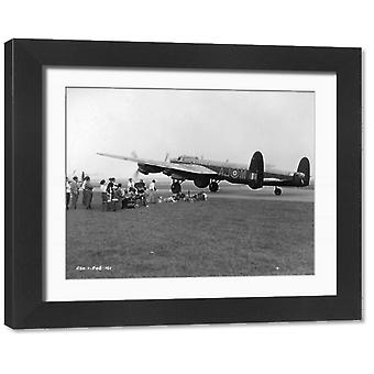 The Dam Busters. Framed Photo. The Dam Busters.