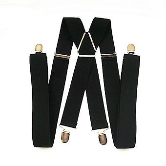 Unisex Adult Suspenders-adjustable Elastic Trousers Braces