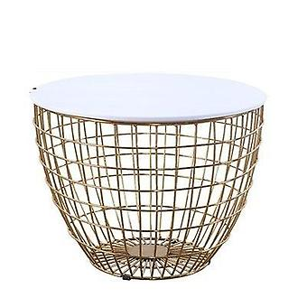 Black Tempered Glass Round Coffee Table For Living Room Rose Golden