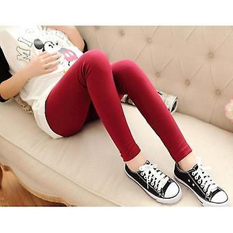 Pregnant Women Cotton Abdominal Leggings, Fashion Pencil High Waist Skinny