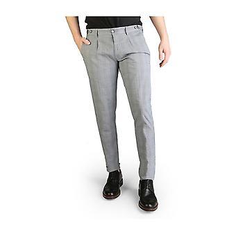 Yes Zee - Ropa - Pantalones - P660-XA00-2713 - Hombres - darkblue, lightgray - 34