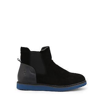 Marina Yachting - Shoes - Stivaletti - COLUMBIA172M6481184-BLACK - Men - black,steelblue - EU 42