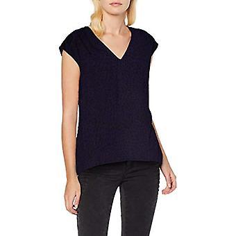 Only Onlftori S/l Top Wvn T-Shirt, Mehrfarbig (Peacoatappaloosa DOT), 42 (Größe Hersteller: 36) Damen