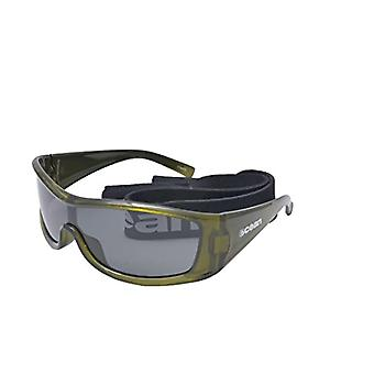 Ocean Sunglasses Puerto Rico, Polarized Sunglasses, Frame: Transparent Green, Lenses: Fume, 17400.5