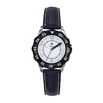 Lulu Castagnette Analog Quartz Watch Girl with Leather Strap 38862
