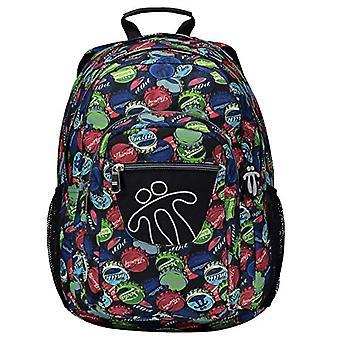 Totto Mochila Pencil Backpack Casual 40 centimeters 25 Multicolor (Multicolor)