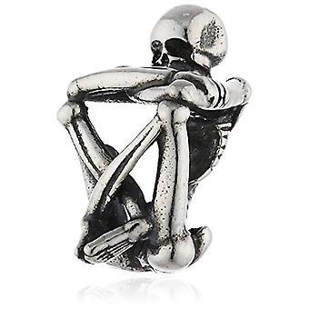 Trollbeads Zilveren Kraal Spirit Skelet