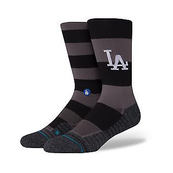 Holdning Dodgers Nightshade Crew sokker i sort