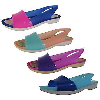 Crocs Womens ColorBlock Flache Schuhe