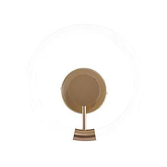 Wall Lamp, LED Tri-color Light Source, Ring-shaped Golden Wall Lamp, Wall-mounted Lamp, Round Wall