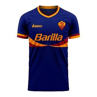 Roma 2020-2021 Third Concept Football Kit (Libero)