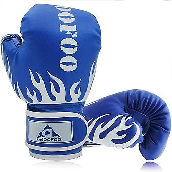 6Oz الأزرق 4oz و 6oz قفازات الملاكمة الاطفال dt6472