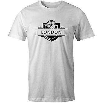 Sporting empire fulham 1879 established badge football t-shirt