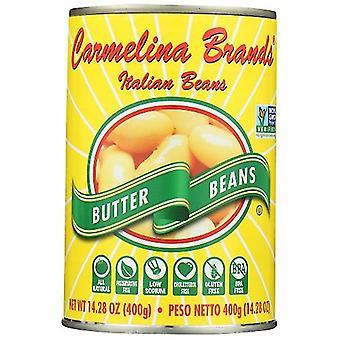 Carmelina Bean Butter Ital, حالة 12 X 14.28 Oz