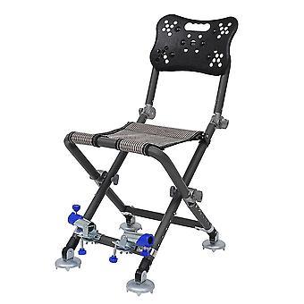 1pc متعددة الوظائف المحمولة للطي شاطئ كرسي كرسي كرسي الصيد البراز