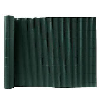 Grüner Bambus-PVC-Zaun