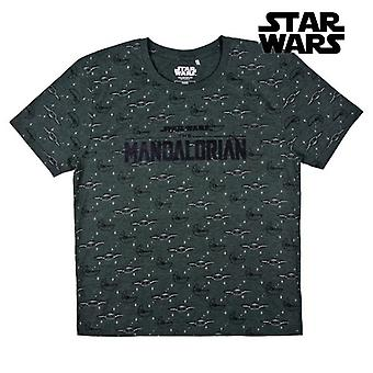 Short Sleeve T-Shirt The Mandalorian Green