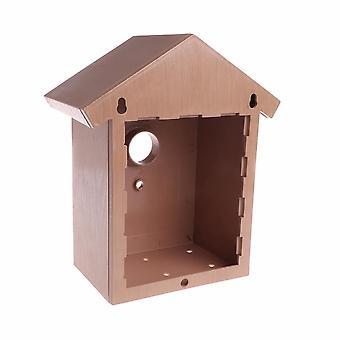 Bird House Swallow DIY Nest Home Decoration Cockatiels Box Roof High Quality Birds Supplies