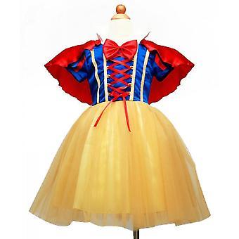 Girls' Princess Costume Fancy Dresses Up Halloween Party(140cm)