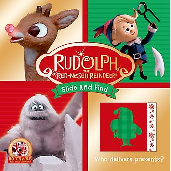 Rudolph the RedNosed Reindeer Slide and Find by Roger Priddy