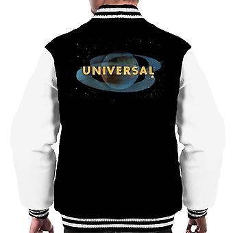 Universal Pictures Space Logo Mäns Varsity Jacka