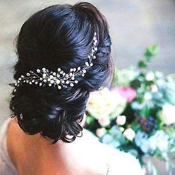Hiukset kammat muotoilu helmi hiusneula morsian päähineet koristeet tarvikkeet