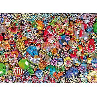 Clementoni Jolly Puzzle Impossible de Noël (1000 pièces)