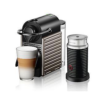 Nespresso C66T Pixie Titan Coffee Machine