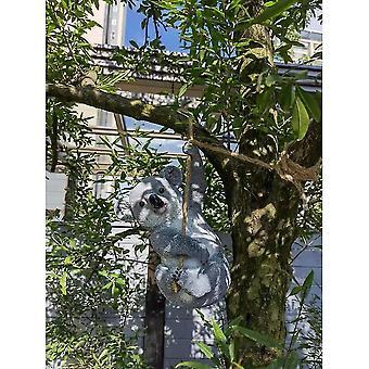 Garten Innenhof Dekoration Simulation Koala Harz Tier Skulptur Garten Dekoration Handwerk Dekoration