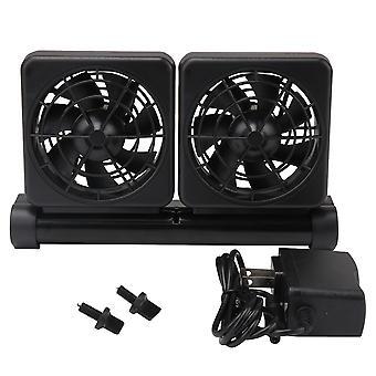Dc 12v adjustable aquarium cooling fan for 1/2 inch aquarium lip width