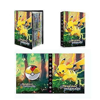 240pcsポケモンカードブック、ゲームキャラクターカードアルバムのコレクション