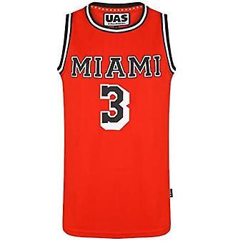 Mens American Us Style Basketball Jerseys Miami Ny Chicago La Brookly Vests Tops Sleevless T Shirts