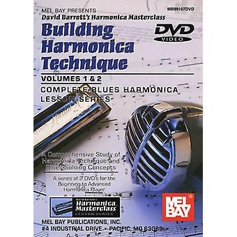 David Barrett - David Barrett: Vol. 1-2-Building Harmonica Technique [DVD] USA import