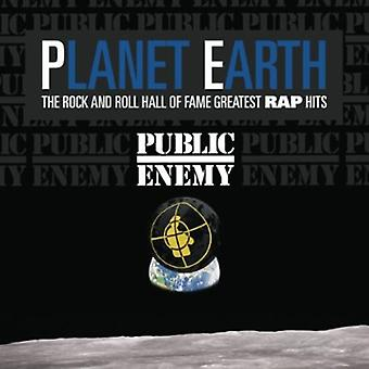 Public Enemy - Planet Earth: Rock & Roll Hall of Fame Greatest Ra [CD] USA import