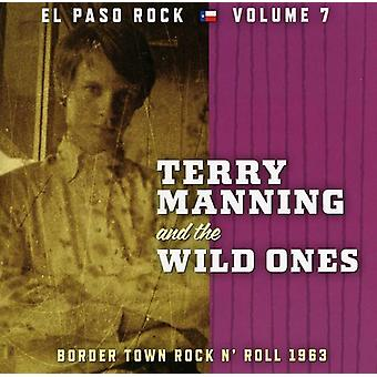 Terry Manning & the Wild Ones - Terry Manning & the Wild Ones: Vol. 7-El Paso Rock [CD] USA import