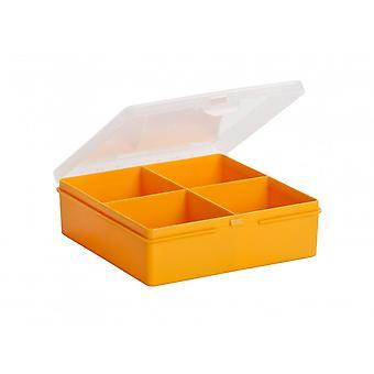 Wham 4 Section Organiser Box