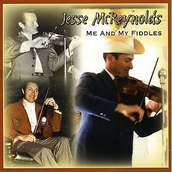 Jesse McReynolds - Me & My Fiddles [CD] USA import