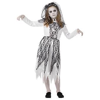 Dziecięce stroje karnawalowe Zombie Panna Młoda dziecko kostium