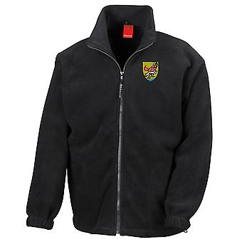Isreali Special Forces Sayeret IDF brodert Logo - Full Zip Fleece